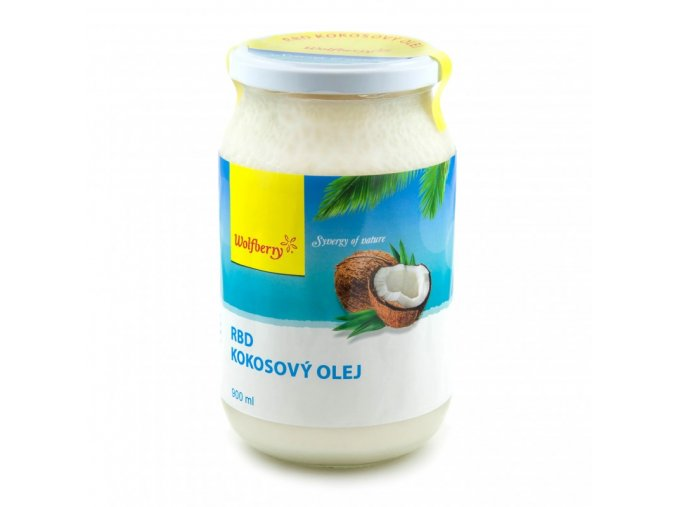 rbd kokosovy olej wolfberry 900 ml