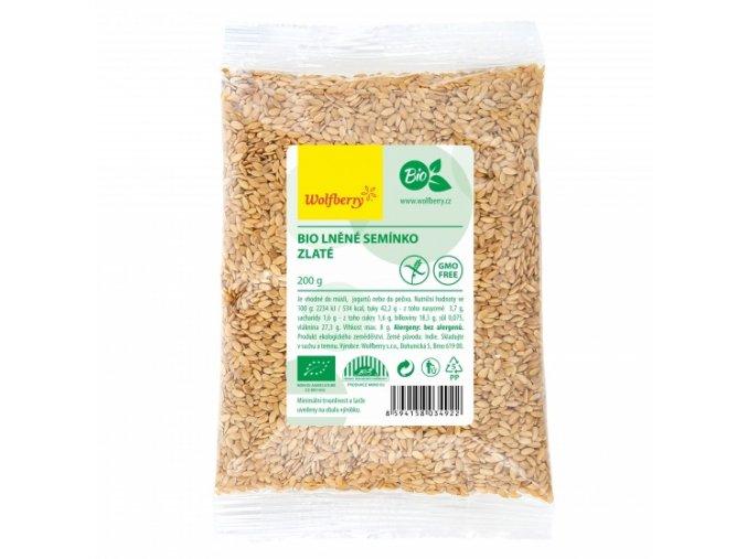 Ľanové semienko zlaté BIO 200g