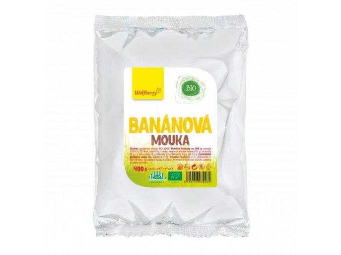 bananova mouka bio 400 g wolfberry