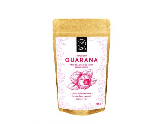 guarana bio prasek 80g