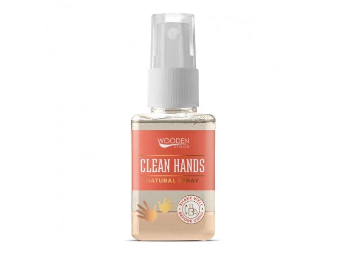 wooden spon dezinfekcia ruky