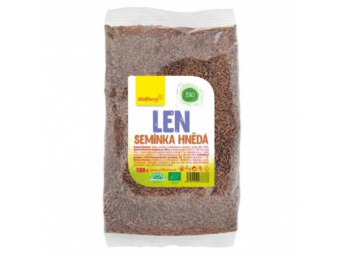 Ľanové semienko hnedé BIO 200g