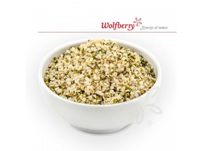 konopne seminko loupane wolfberry bio 500 g (1)