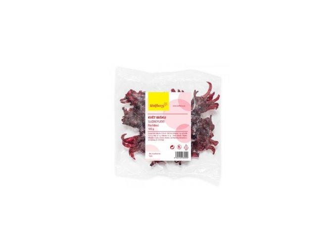 Kvet ibišteku kandizovaný 100g