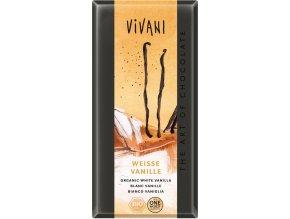 cokolada biela vanilka 100g