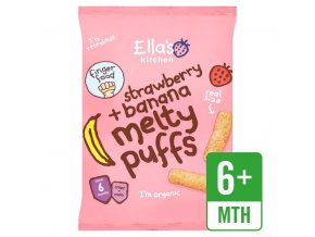 Melty Puff Strawberry and Banana
