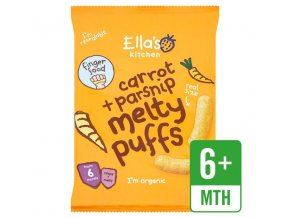 Melty Puff Carrot and parsnip