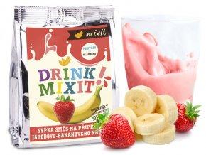 drink mixit jahoda banan