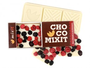 mixit biela cokolada mini