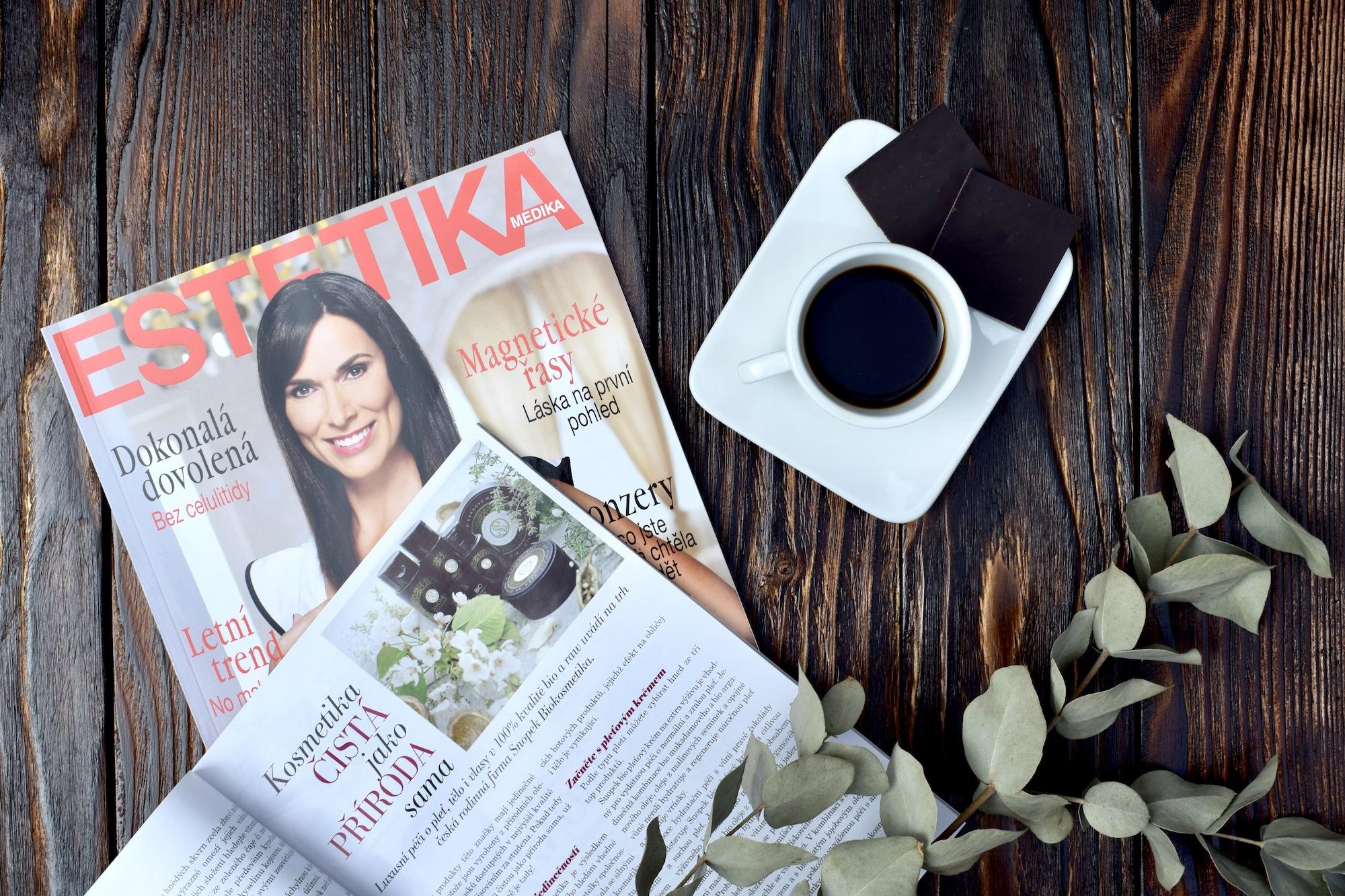 Články v časopisech ESTETIKA a Sofie 40+