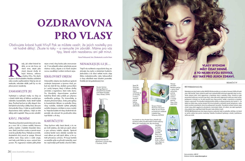 Ozdravovna pro vlasy