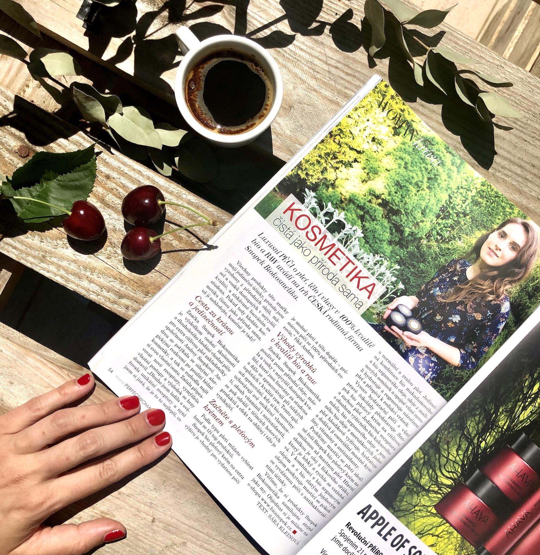 Článek v časopise PERFECT WOMAN