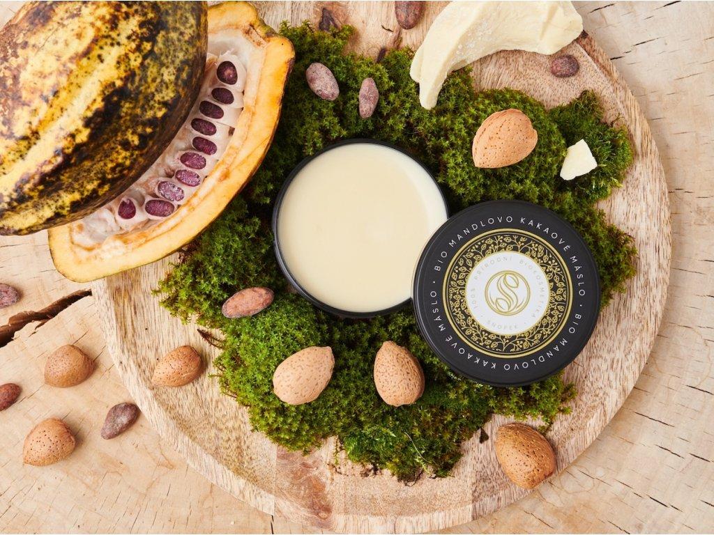 BIO Mandlovo kakaové máslo