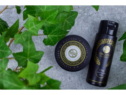 Snopek Biokosmetika Bio pleťový krém na citlivou a suchou pleť a olej z meruňkových jader