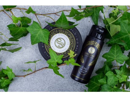 Snopek biokosmetika Bio mandlovo kakaové míslo a olej z meruňkových jader