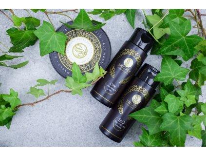 Snopek biokosmetika Bio mandlovo kakaové míslo a olej z meruňkových jader a bio olej ze sladké mandle