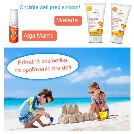Ako správne chrániť deti pred slnkom