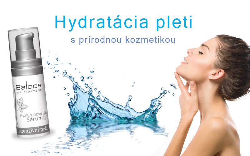 Hydratácia pleti s prírodnou kozmetikou