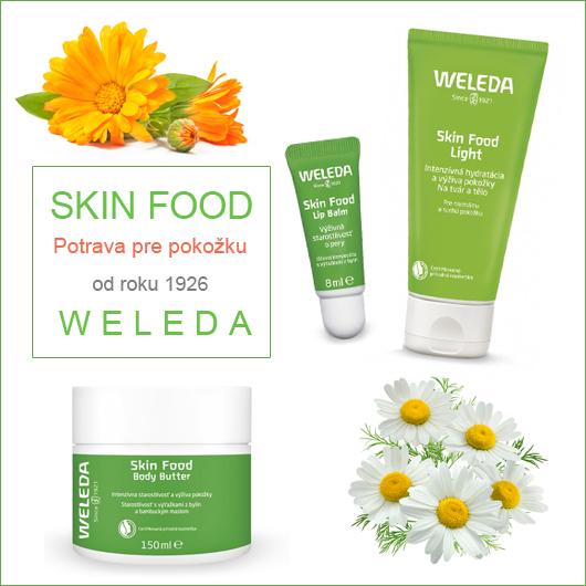 Skin Food nová rada od Weledy