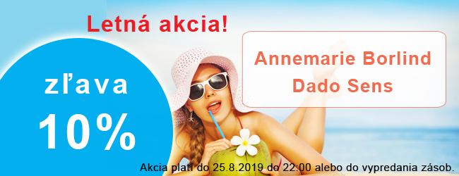 Letná akcia Annemarie Borlind Dado Sens