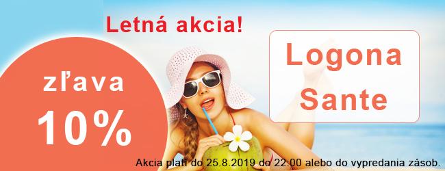 Letná akcia 10% Logona Sante