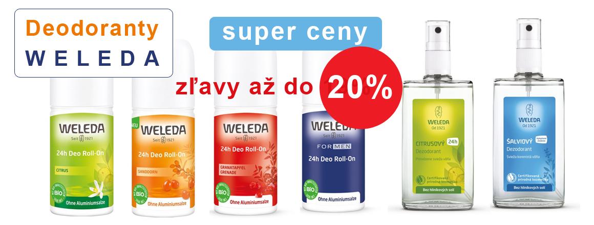 Deodoranty Weleda