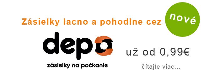 Zásielky cez Depo.sk