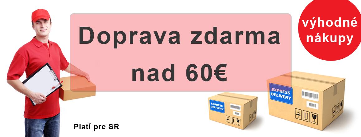 Doprava zdarma nad 60€