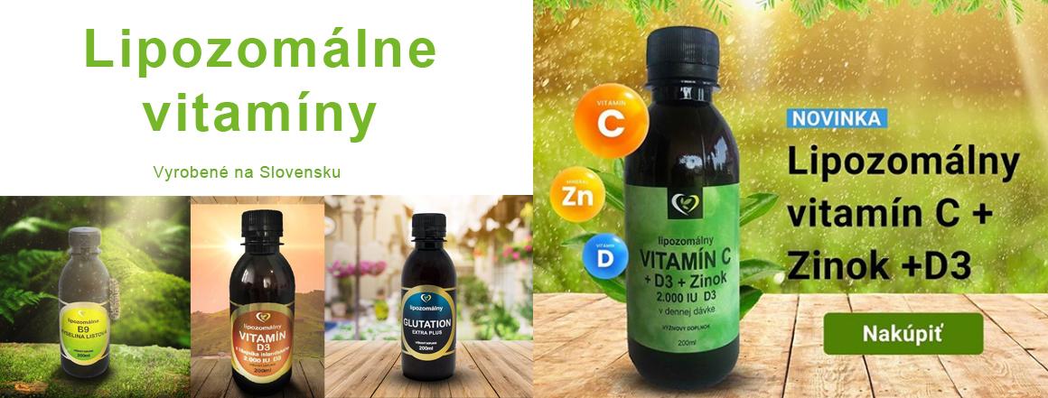 Lipozomálne vitamíny