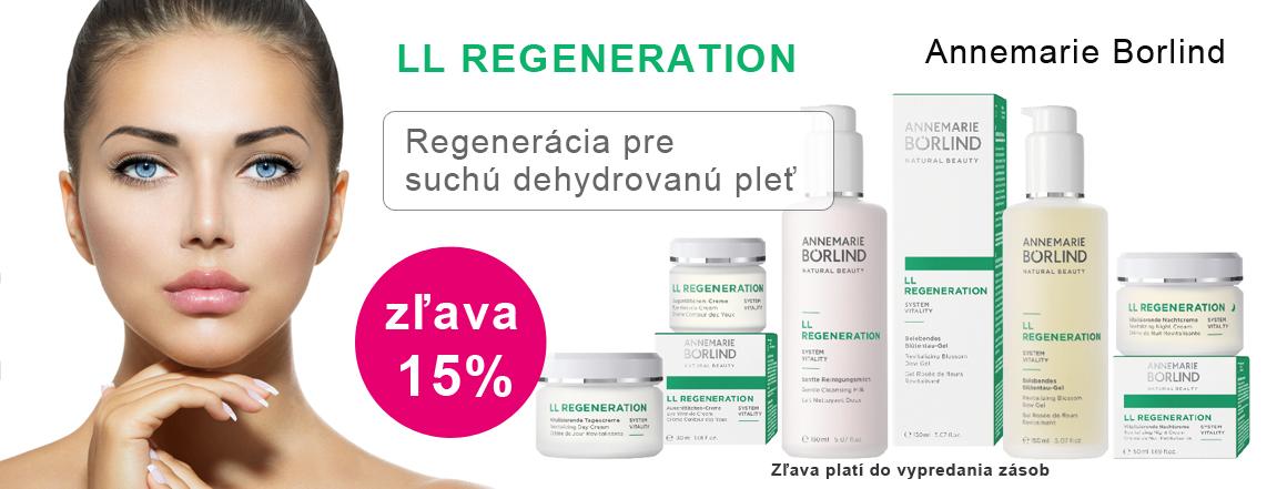 LL Regeneration 15% zľava Annemarie Borlind