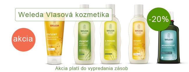 Akcia Vlasová kozmetika Weleda