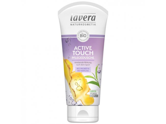 sprchovy gel active touch lavera
