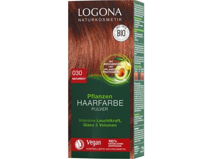 praskova farba na vlasy cervene 030