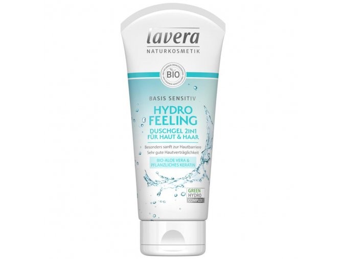 sprchovy gel hydro feeling basis sensitive lavera