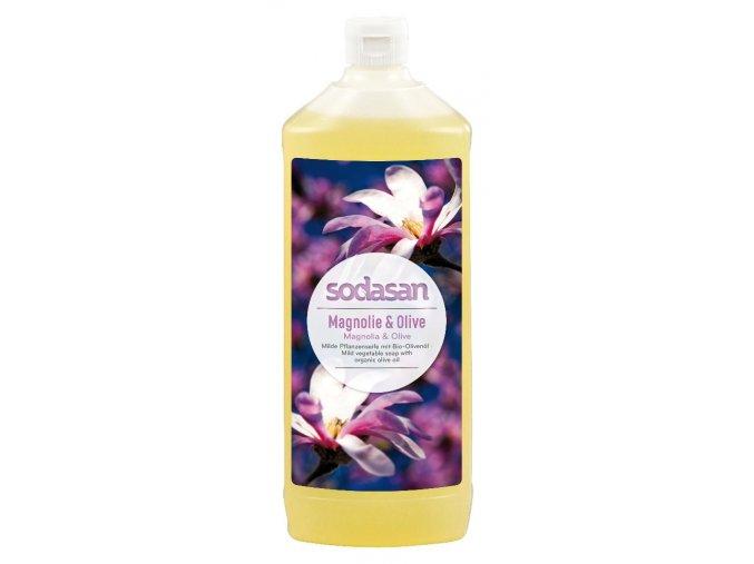 tekute mydlo magnolia oliva sodasan