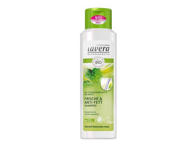 Šampón pre normálne a mastné vlasy Balance - Lavera