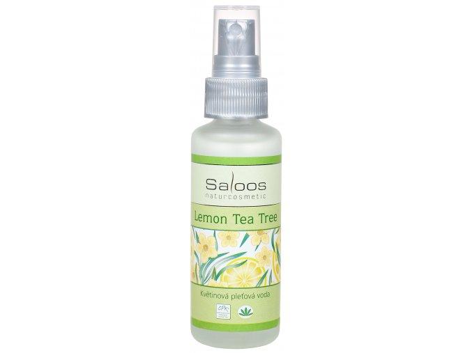 Lemon Tea tree kvetová voda Saloos