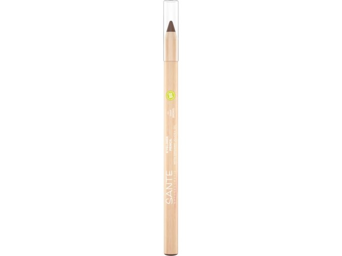 prirodna ceruzka na oci hneda sante