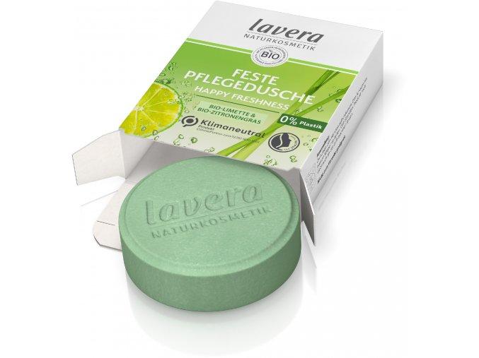 tuhy sprchovy gel happy freshness lavera 1