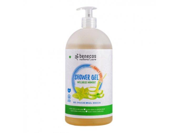 sprchovy gel wellness moment benecos