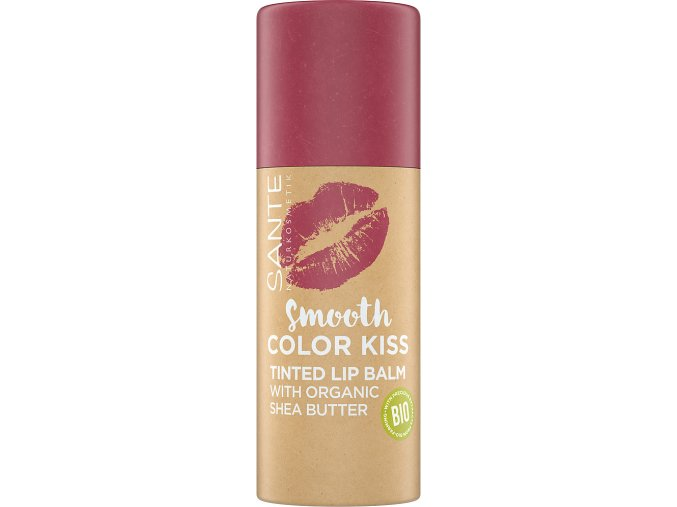 smooth color kiss soft red sante