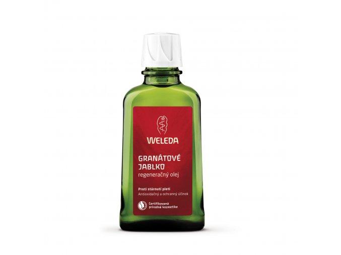 Granátové jablko regenerační tělový olej