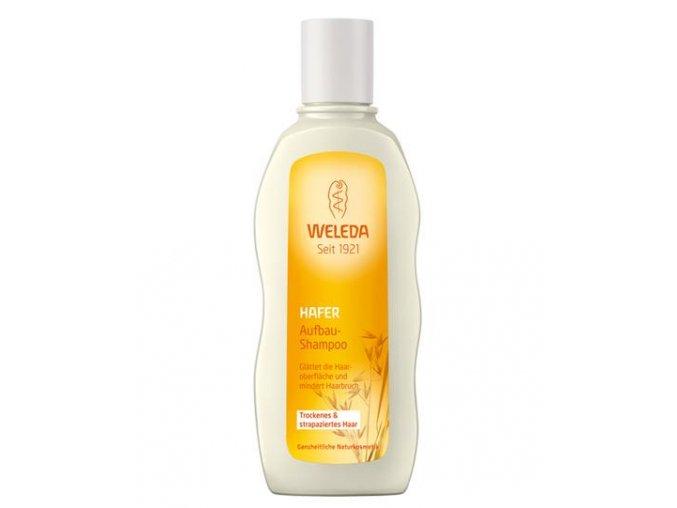 Ovsený regeneračný šampón na suché a poškodené vlasy Weleda