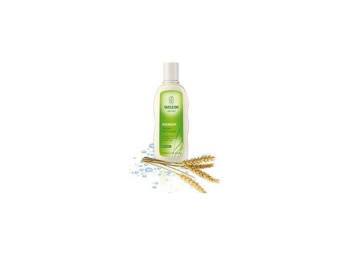 Pšeničný šampón proti lupinám Weleda