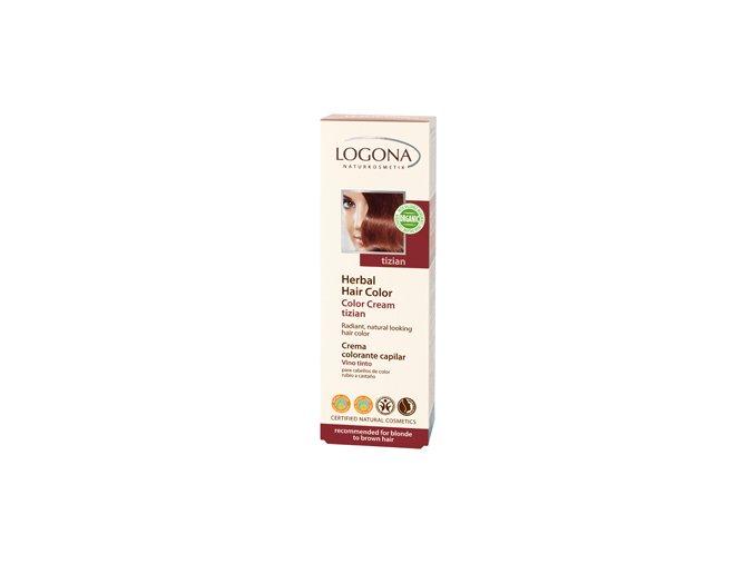 Krémová farba na vlasy - Tizian LOGONA