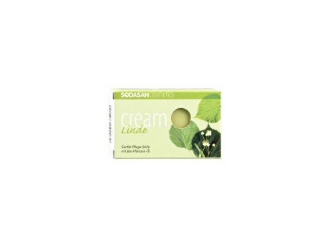 BIO Pleťové mydlo Cream Kvet lipy - Sodasan