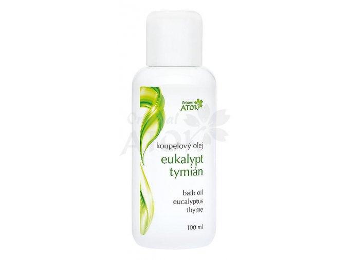 Kúpeľový olej Eukalypt-Tymián - Original ATOK