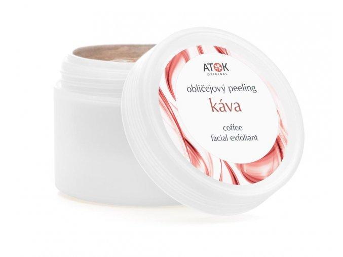 Pleťový peeling Káva - Original ATOK