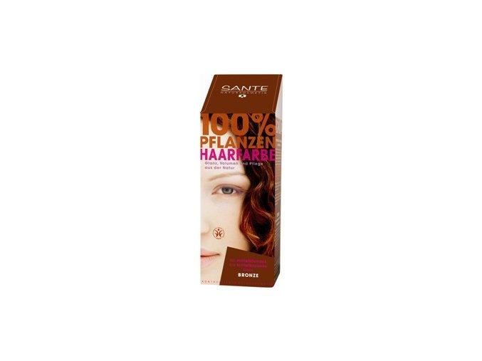 Sante prášková farba na vlasy - bronzová