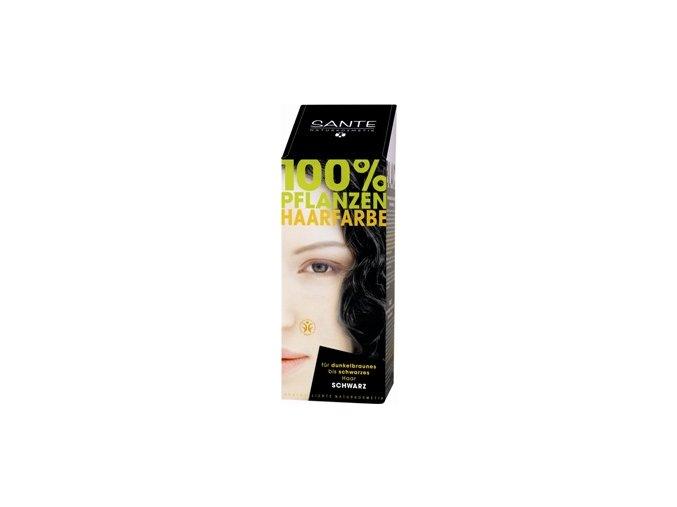 Sante prášková farba na vlasy - čierna
